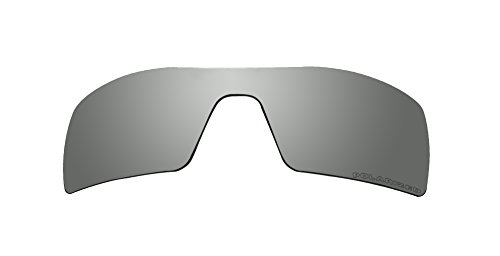 Sunglasses Polarized Lenses Replacement for Oakley Oil Rig II Sunglasses Black Mirror - Oil Polarized Rig