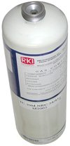 Cylinder, isobutane 50% LEL in Air, 34L by RKI Instruments