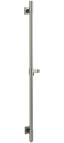 KOHLER K-98344-BN Awaken Deluxe 36-Inch Slide Bar with Integral Water Supply, Vibrant Brushed Nickel