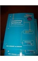 Holt Elements of Language: Combining Sentences Grade 6 (Elements  of Language 2001)