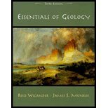 Essentials of Geology, Wicander, Reed and Monroe, James S., 0534384404