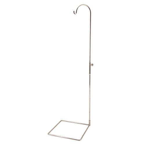 3B Scientific A59/8 Nickel-Plated Steel 3 Part Stand for Spinal Columns and Skeletons (Stand Skeleton)
