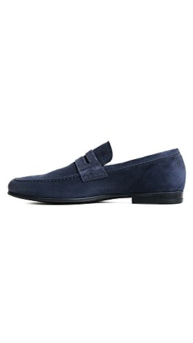 Arrancar El New York Hombres Alek Penny Loafer Blue