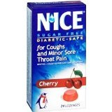 N'ice Lozenges Sugar Free Cherry - 24 lozenges