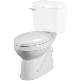 Thetford white elongated tlt bowl one piece toilets for Thetford bathroom anywhere reviews