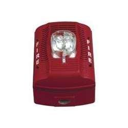 System Sensor (Honeywell) – SPSRK – Wall Speaker Strobe, Standard Candela, Red , Weatherproof For Sale