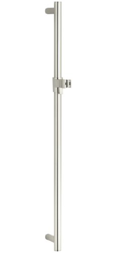 KOHLER K-8524-SN 30-Inch Slide Bar, Vibrant Polished Nickel - Sn Polished Nickel Replacement