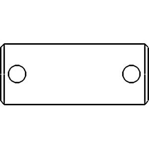 Pin Drawbar Frame Part No: A-36200-89360