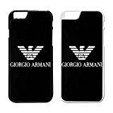 Giorgio Armani Logo IPhone Case Iphone 7 Case Black Rubber - Shipping Armani Exchange