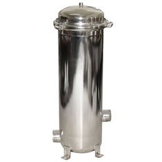 (7 x 30 BAG FILTER HOUSING; 304 STAINLESS STEEL; BANDED TOP; 176 GPM, 2
