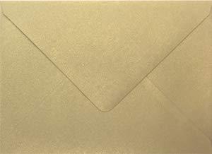 (Stardream Gold Leaf A2 Euro Flap Envelope (4 3/8