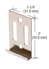 CRL Nickel Plated Vancouver Clip for 6MM Mirror - - Glasses Frames Vancouver