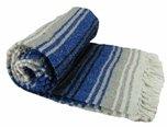 Studio Classic Plus Yoga Blankets (Blue)