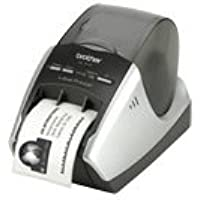 Brother QL-570 Thermal Label Printer Monochrome - Direct Thermal - 4.30 in/s Mono - 300 dpi - USB