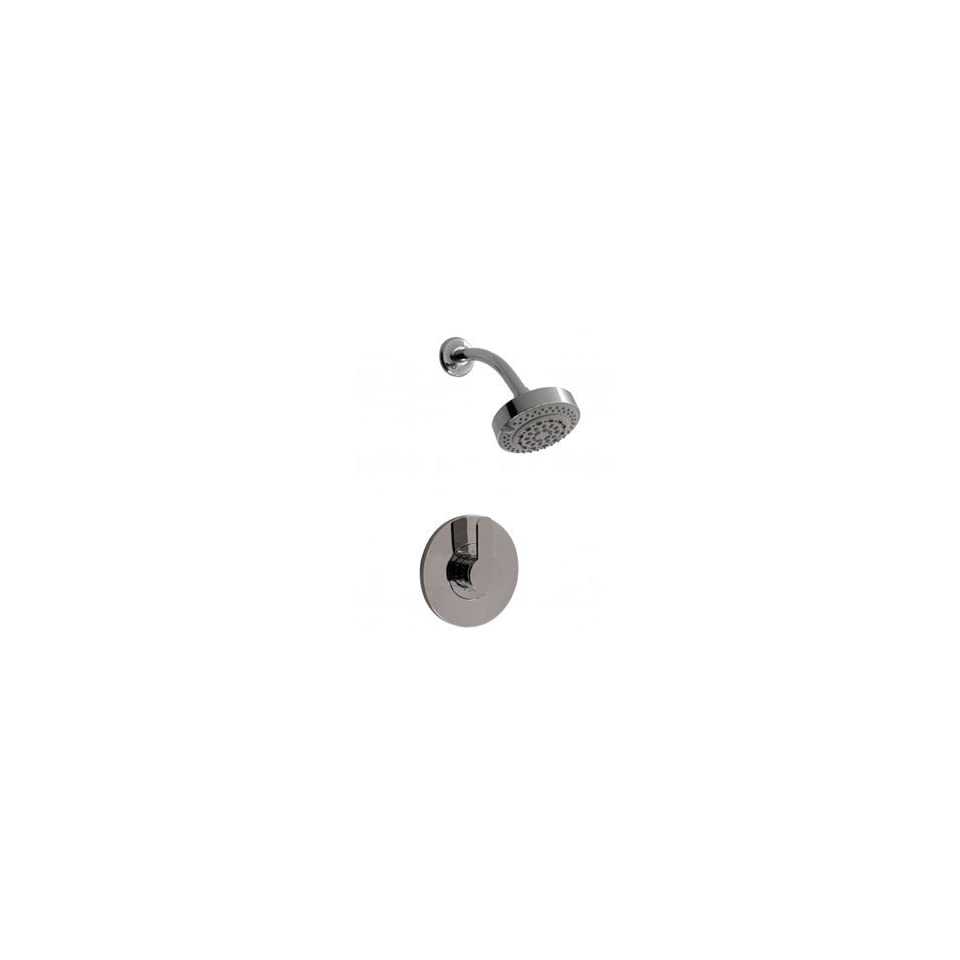 Santec 6632BO10 TM10 Polished Chrome Bathroom Faucets Pressure Balanced Shower Set