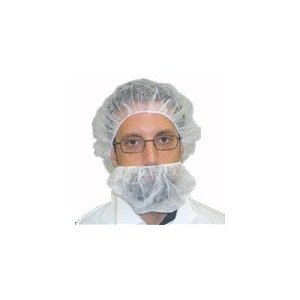 Premier 1 Over the Ear Beard Covers (500/case) by Basic Medical (Image #1)