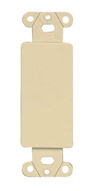 Leviton Decora Blank Insert - Leviton Mfg 013-80414-00I Decora Blank Insert - Ivory
