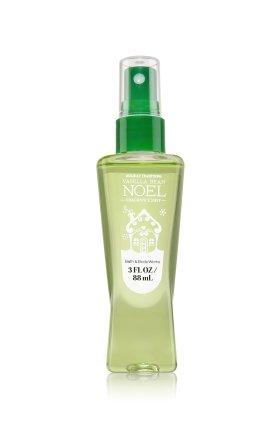 Bath & Body Works Signature Collection Travel-size Fragrance Mist Vanilla Bean Noel 3 oz (Body Size Travel Wash Vanilla)