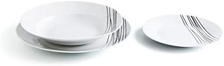 Quid Jazz - Vajilla de porcelana, 6 servicios, Apta para ...