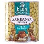 Eden Foods Garbanzos Beans Can 36x 15 Oz