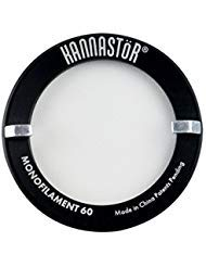 "Kannastor SKSCRN-22-6MF Herb Grinder Screen, 2.2"", Black/Silver"