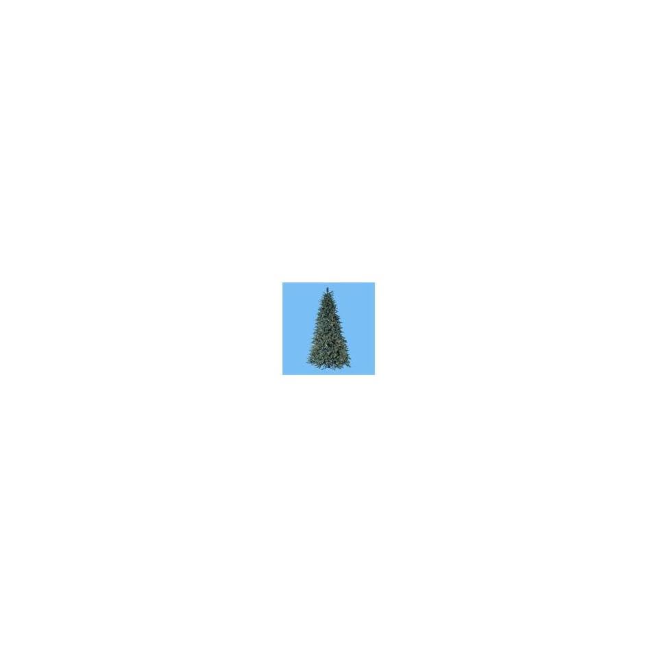 7.5 Pre Lit Blue Noble Spruce Christmas Tree