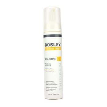 Bosley Bos-Defense Thickening Treatment, Normal To Fine Non Color-Treated Hair, 6.8 oz