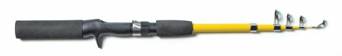 Eagle Claw Pack-IT Telescopic Spincast Rod, 1 Piece Yellow, 5-Feet 6-Inch