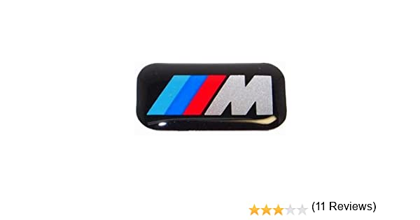 Amazon com oem bmw m logo sticker automotive