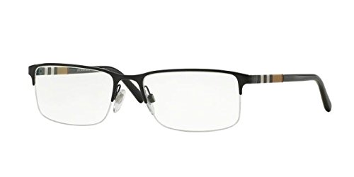 Burberry BE 1282 Eyeglasses 1001 Black