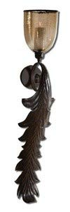 Uttermost 19732 Tinella Wall Sconce, Bronze