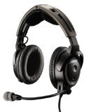 Bose A20 Aviation Headset (Battery-powered w/Bluetooth, Electret mic, Straight cord, Twin plug) (Discontinued by Manufacturer)