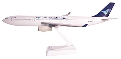Garuda Indonesia A330-300 Airplane Miniature Model Plastic Snap-Fit 1:200 Part# AAB-33030H-005