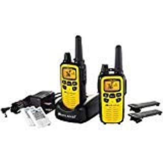 Midland LXT630VP3 36-Channel GMRS with 30-Mile Range NOAA Weather Alert, Rechargeable Batteries Charger in High Visibility Yellow Case (B00EQV1I0K) | Amazon Products