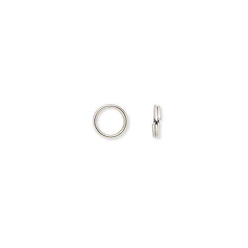 5 mm split jump rings - 6