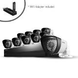 (Samsung SDS-P5102 16 Channel DVR Security System with Samsung WiFi Adapter (SEA-W01ACN)Included)