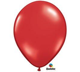 (100) Ruby Red Jewel Tone 11