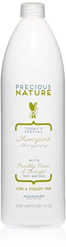 Alfaparf Milano Precious Nature Long & Straight Hair Shampoo - Sulfate Free - Anti-Frizz - Enriched with Prickly Pear Oil and Orange Extract - Professional Salon Quality - 33.81 fl. oz. ()