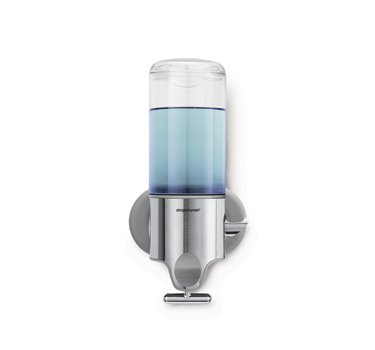 simplehuman Triple Wall Mount Shower Pump, 3 x 15 fl. oz. Shampoo and Soap Dispensers, Stainless Steel by simplehuman (Image #2)