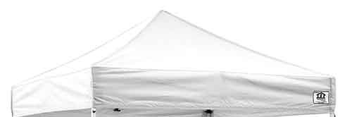 Impact Canopy 10' x 10' Pop-Up Canopy Tent Top, Replacement Cover Only, - Impact Top Canopy