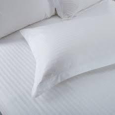 White Stripe Pillowcase Set - 6