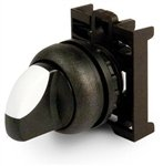 787099 Eaton M22S-WRLK3-G ulEy6 22mm Selector Switch, Kno...
