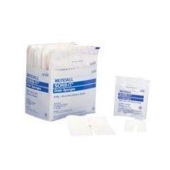 Kendall healthcare Sorb-IT Sterile Drain Sponge 4'' x 4'' Part No. 6242P Qty 50 Per Box