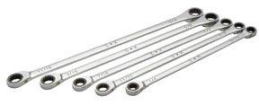 (SK Hand Tools 89250 5 Piece Fractional XXL Double Box Spline G-Pro Wrench Set )