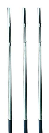 Heath Outdoor Products MP-15-4 15-Foot Telescoping Purple Martin House Pole (3-(Pack))