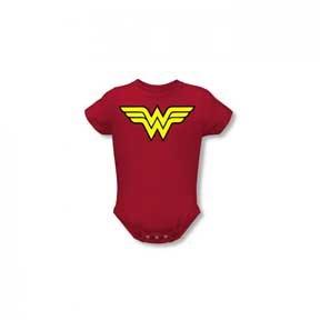 Infant: Wonder Women - Logo Infant Onesie Size 6 Mos ()