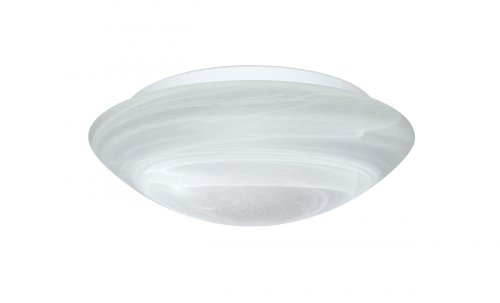 Besa Lighting 977252C 1X60W A19 Nova 10 Ceiling Marble Flush Mount