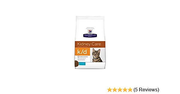 Amazon.com : Hills Prescription Diet k/d Kidney Care with Ocean Fish Dry Cat Food 8.5 lb : Pet Supplies