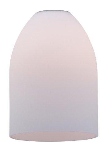 8-OPL Inari Silk Pino Pendant Glass Shade, Opal Glass Finish (Access Lighting Silk Pendant)