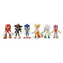 sonic the hedgehog modern exclusive action figure 6 pack tails